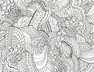 Elegant Grown Up Coloring Books