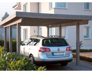 Kvh Einzel Carport Rugen 1 Lasiert Grau In 2020 Carport Carports Wolle Kaufen