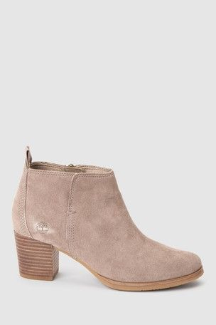 Timberland® Grey Suede Eleonor Street Ankle Boot | Wish List