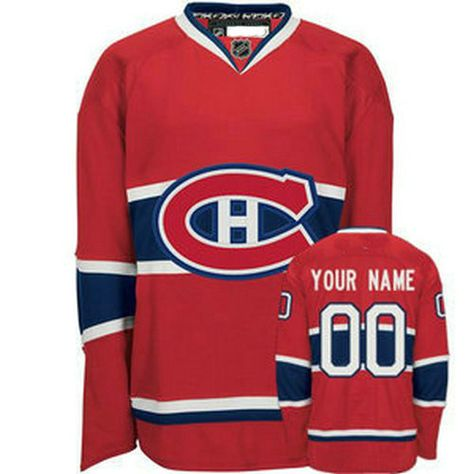 Canadiens Custom Name /& Number Personalized Hockey Youth Jersey T-shirt