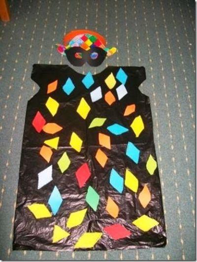 Disfraces Con Bolsas De Basura Bolsa De Basura Trajes Reciclados Para Niños Disfraces Bolsas De Basura