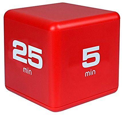 Pomodoro Technique Timer Amazon Com Miracle Timecube Timer Time