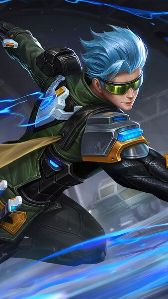 Gusion Cyber Ops Skin Mobile Legends 4k Hd Mobile