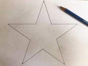 Disegnare Una Stella Di Natale.Come Disegnare Una Stella Perfetta A 5 Punte In Modo Semplice Con Un