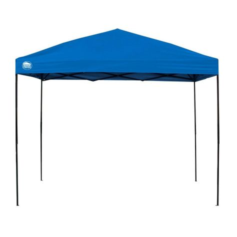 Shade Tech St100 10 Ft X 10 Ft Blue Instant Canopy Blue Black Patio Canopy Instant Canopy Canopy Tent