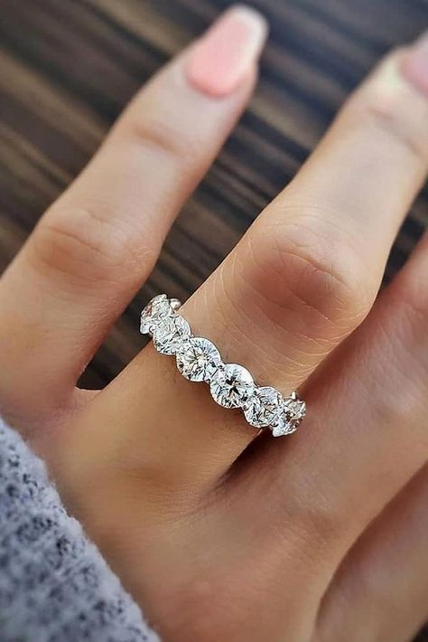 Natural Diamond Flower Engagement Ring in Two Tone Gold Inspired by Nature Branch Ring Unique Band Engagement Ring - Fine Jewelry Ideas 24 Unique Wedding Rings For Somebody Special ❤️ Unique wedding rings are a very popular trend i