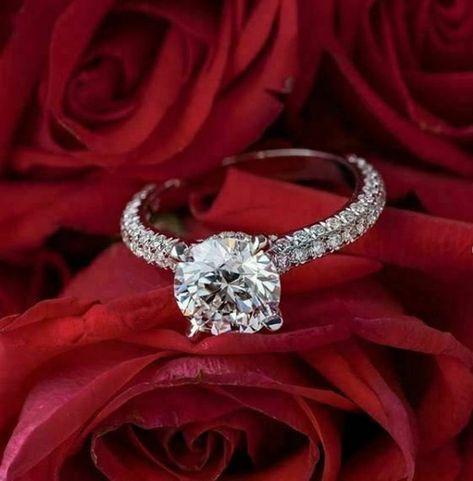 1.80 Ctw Round Cut Forever One Moissanite & Diamond Hidden | Etsy