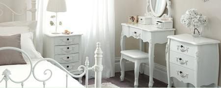 Toulouse White Bedroom Furniture Collection Wwwindiepediaorg - Toulouse bedroom furniture white
