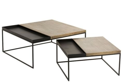 Table Basse Hevea Vitree 80x80cm Maori Table Basse Table De Salon Table Basse Salon