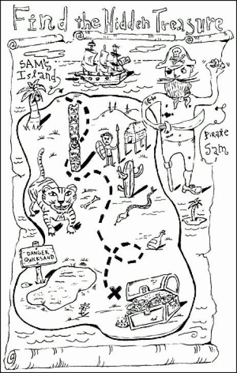 Treasure Map Coloring Page Unique Pirate Treasure Map Coloring Page Coloring Pages Amp Pirate Treasure Maps Treasure Maps Pirate Coloring Pages