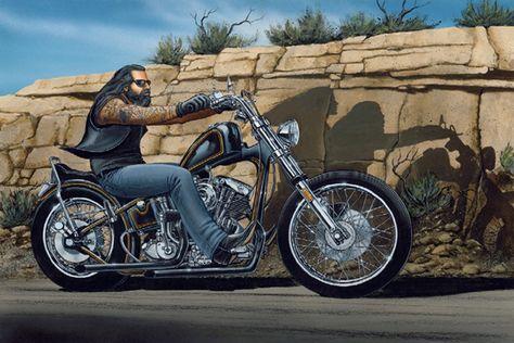 David Mann Motorcycle Art | david mann easyriders : gartak