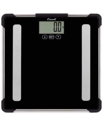 Escali Glass Body Analyzing Bathroom Scale 400lb Reviews Home Macy S Body Scale Personal Scale Body Composition