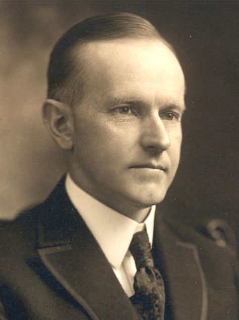 John Calvin Coolidge (1872-1933), Vermont, 30th President of the United States