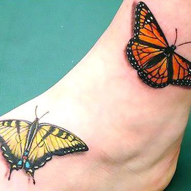 Tiger Swallowtail And Monarch Butterfly Tattoo Tiger Swallowtail And Monarch Butterfly Tattoo In 2020 Monarch Butterfly Tattoo Butterfly Tattoo Tattoos