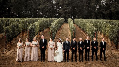 Wine Country Weddings in the Willamette Valley