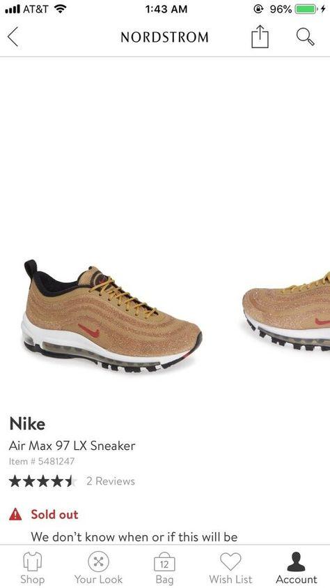 nike air max 97 gold 43