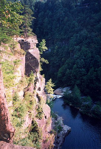 Tallulah Gorge - just a little over an hour up the road!