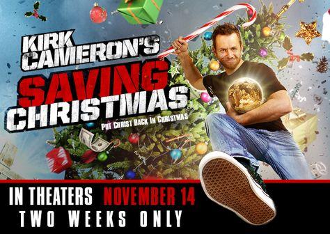 Kirk Cameron Saving Christmas.Pinterest