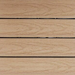 Landmann 12 X 12 Wood Interlocking Deck Tile In Teak Wayfair Interlocking Deck Tiles Deck Tile Tiles