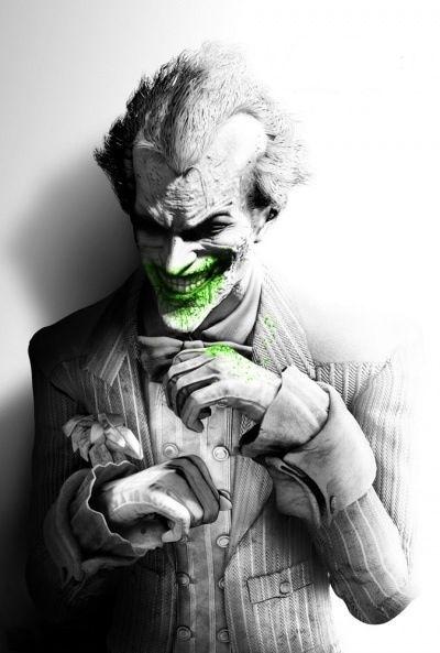 "Batman Arkham City Game Wall Silk Poster 20x13"" Super Hero Joker"