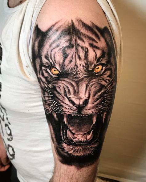 Trendy Tattoo Sleeve Tiger Tatoo Ideas Tiger Tattoo Tiger Tattoo Sleeve Sleeve Tattoos