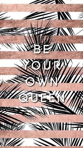 Be Your Own Queen Gold Wallpaper Background Rose Gold Wallpaper Iphone Rose Gold Wallpaper
