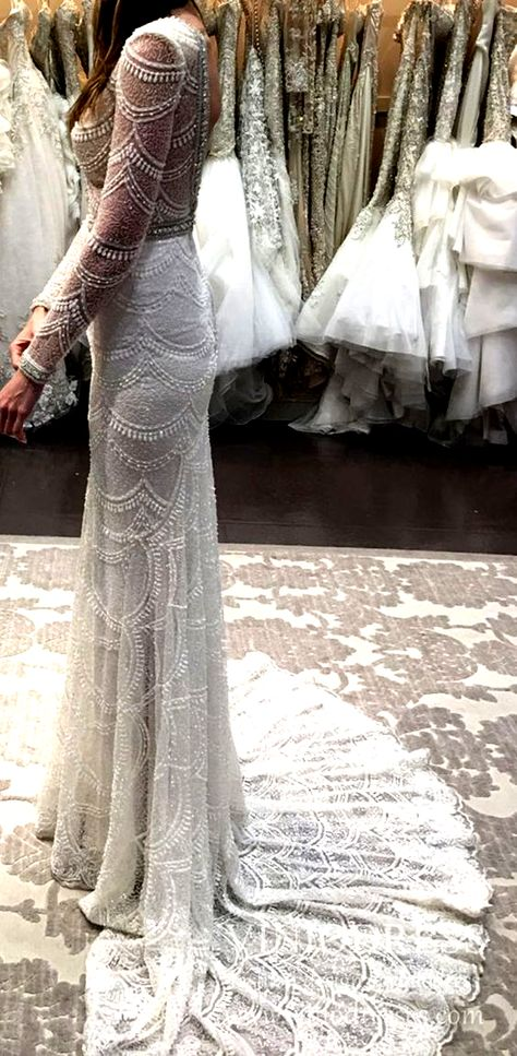 Fully beaded lace rustic wedding dresses. #bride #weddingdress #weddinginspiration #weddings #weddingideas #brides #weddinginspo #ideasforbrides #handmade #wedding