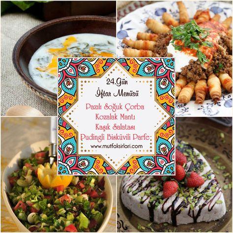 24.Gün İftar Menüsü 2020 – Mutfak Sırları – Pratik Yemek Tarifleri