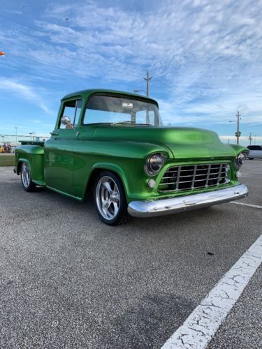 1955 Chevrolet Pickup Truck Custom Old Trucks For Sale Vintage