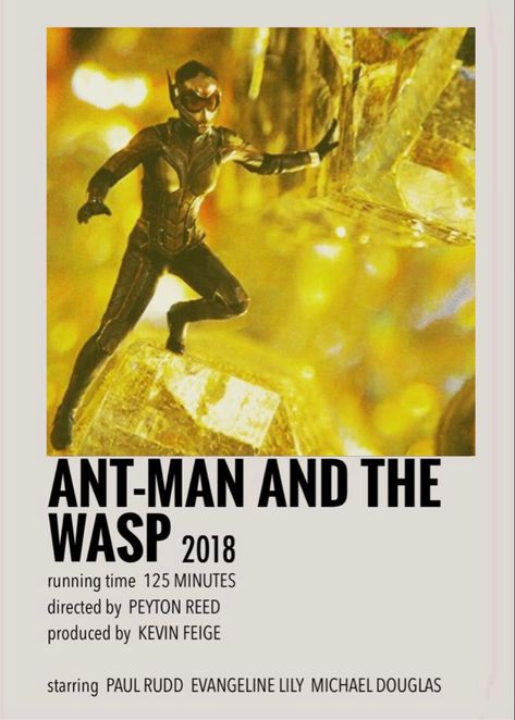 Ant-Man And The Wasp polaroid poster