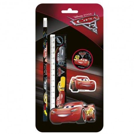Set Papeleia 4 Piezas De Cars Tiendas Disney Disney Tienda De