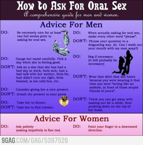 How to do oral sex on a womsn