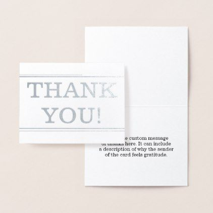 Old Fashioned Vintage Quot Thank You Quot Card Customize Diy Custom Message Cards Thank You Cards
