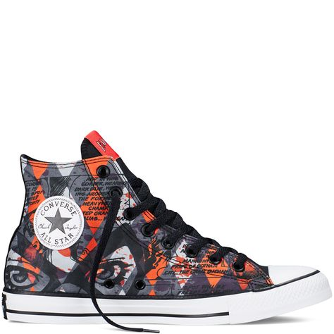 8203479f9b68 Chuck Taylor DC Comics Harley Quinn Red red Want these!