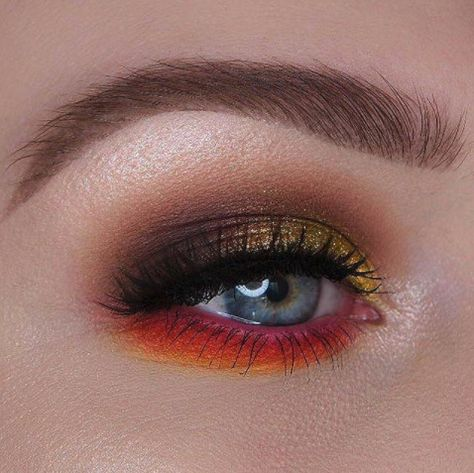 Blazing Color Burst - The Spring Beauty Trend We're Absolutely Living For - Photos