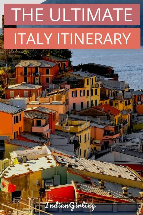 Two Weeks In Italy By Train Itinerary On A Budget