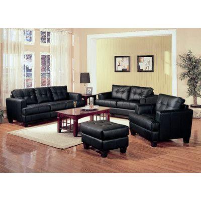 Ebern Designs Granville Sofa In 2020 Leather Living Room Set
