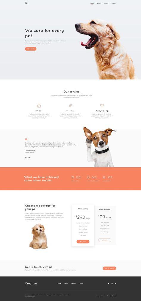 Creation Modern Web UI Kit | Website Template & Design Framework