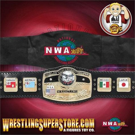 Nwa World Heavyweight Championship Ultra Deluxe Adult Size
