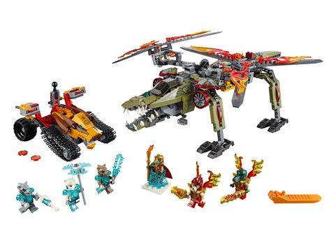 Lego Chima König Crominus Rettung 70227 Rette König