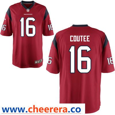 competitive price 592e7 4ba0c Men's Houston Texans #16 Keke Coutee Red Alternate Stitched ...