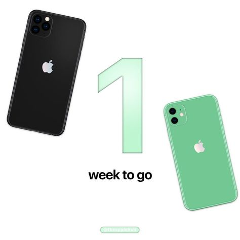 "Apple Hub on Instagram: ""[EVENT] 1 week to go before the next Apple event! Are you excited?  #Apple #AppleEvent #AppleHub"""