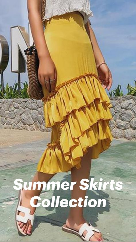 Summer Skirts Collection