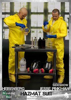 Heisenberg And Jesse Two Pack Breaking Bad Threezero 1 6 Collectible Figure Set Breaking Bad Heisenberg Jesse Pinkman