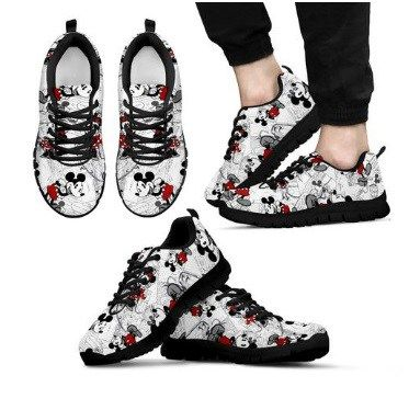 FluffyKicks   Mickey mouse shoes