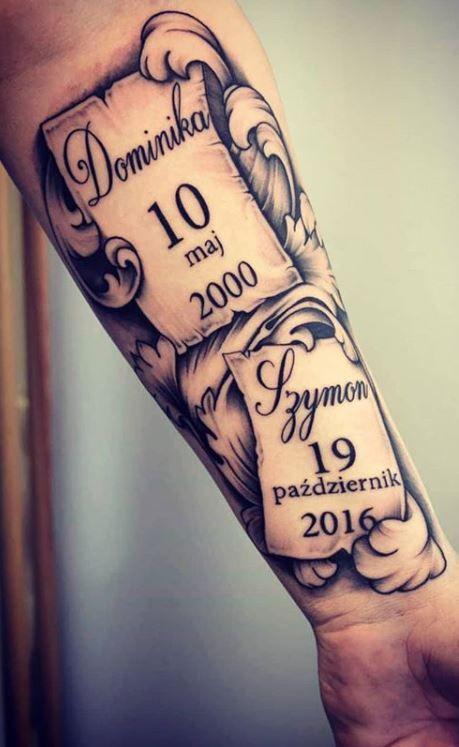 Kid Name Tattoos : tattoos, Tattoo, Tattoos, Kids,, Tattoo,, Names