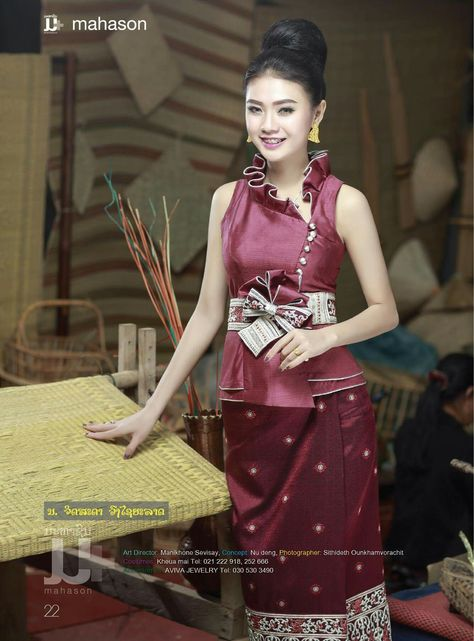 200 Best Lao Fashion Images Fashion Traditional Dresses Laos Clothing