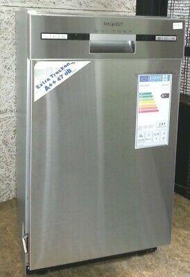 Ebay Sponsored Exquisit Egsp 6025 Inox Spulmaschine 45cm Unterbaugerat Glaserprogramm A G181 Geschirrspuler Ebay Geschirr