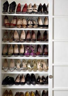 39 bonnes idées pour ranger ses chaussures ! | Storage, Closet shoe ...