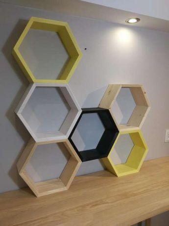 Półki Plaster Miodu Hexagon Sanok Olxpl Other W 2019